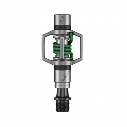 CRANKBROTHERS Pédales EGG BEATER 3 Edition Limitée Inox/Vert