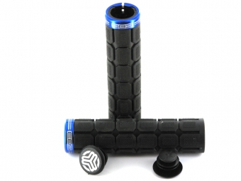 SB3 Grips Big One Noir/Bleu Lock-on