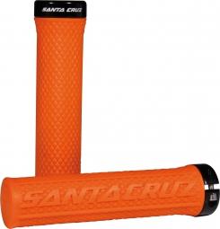 SANTA CRUZ Grips ONE Lock-on Orange