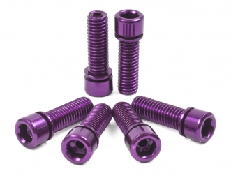 TSC Hollow Stem Bolt Kit Purple