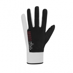 zero rh paire de gants longs fuego noir blanc xxl