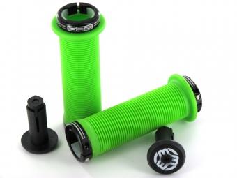 SB3 Grips Chula Lock-on Vert/Noir 130 mm