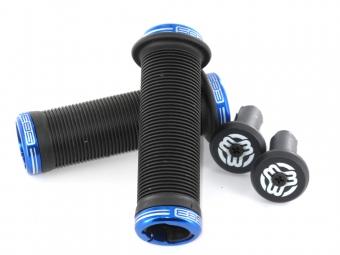 sb3 grips chula lock on noir bleu 130 mm