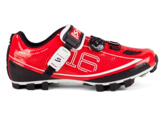 Chaussures VTT Spiuk 16M 2015 Rouge