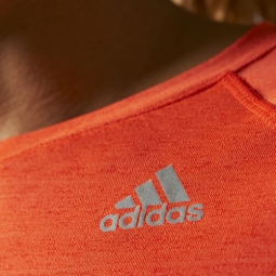 adidas t shirt femmes supernova orange l