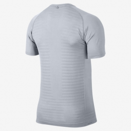 maillot homme nike dri fit knit gris xl