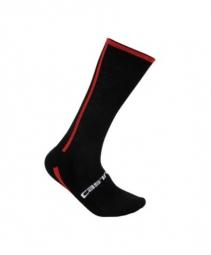 castelli paire de chaussettes venti noir rouge 35 39