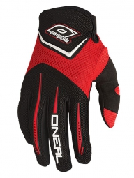 ONEAL Paire de Gants ELEMENT Rouge