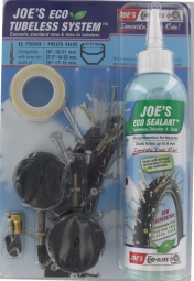NO FLATS Joe's Kit de Transformation ECO 26-27.5-29'' Tubeless Presta 240ml 17-21mm