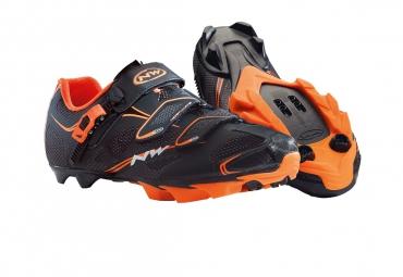 Chaussures VTT Northwave Scorpius Srs Noir Orange