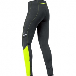 GORE RUNNING WEAR Collant MYTHOS 2.0 Noir jaune