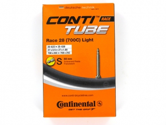 CONTINENTAL Chambre à air 700x20/25 Light Valve presta 60 mm