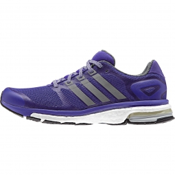 adidas paire de chaussures adistar boost femme violet 36 2 3