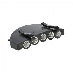 Lampe de visiere pour casquette de velo