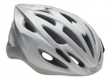 BELL 2015 Helmet SOLAR White Silver