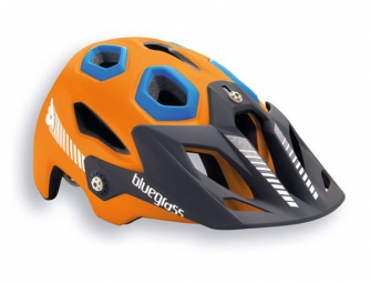 Casque Bluegrass GOLDEN EYES 2015 Orange/Bleu