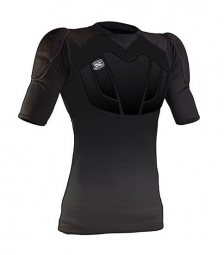 ixs maillot de protection hack noir xs