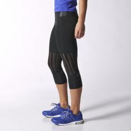 adidas Collant 3/4 Adistar Femme Noir