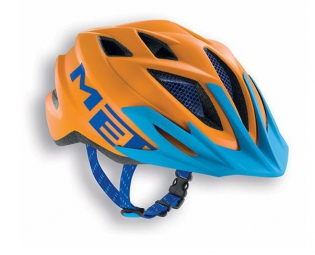 Casque MET Enfant CRACKERJACK Orange/Bleu Taille unique