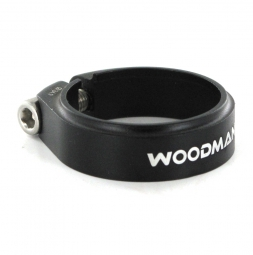 Woodman collier de selle deathgrip sl noir mat 34 9