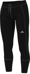 adidas collant long sequencials climaheat brushed noir femme xl