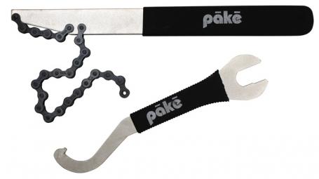 PAKE Kit Fouet à Chaine pour Pignon 1/8'' et Lock-Ring