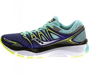 Chaussures de Running Femme Saucony Triumph ISO Violet / Bleu