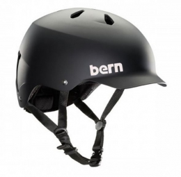 BERN Helmet WATTS EPS 2015 Matt Black