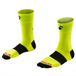 bontrager chaussettes race bontrager logo 12 7cm fluo 43 45