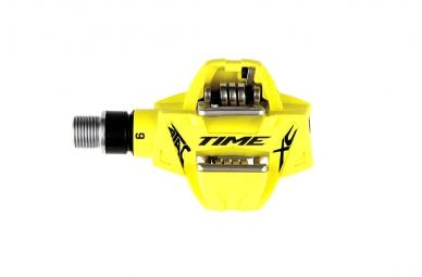 TIME 2015 Paire de Pédales ATAC XC 6 Jaune