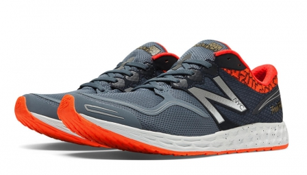 NEW BALANCE Chaussures M1980 NYC Gris Orange Femme