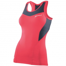 2XU Frauen BASE COMPRESSION TANK Pink