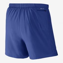 NIKE Short 2 en 1 PHENOM 2-IN-1 12,5cm Bleu Homme