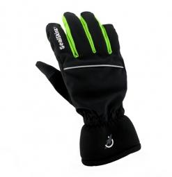 SEALSKINZ Paire de Gants EXTRA COLD Noir Vert