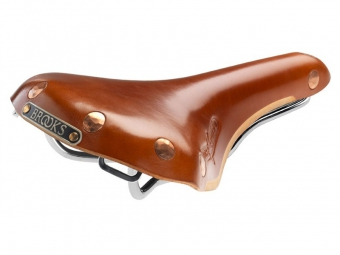 BROOKS Saddle Leather SWIFT Chrome Honey