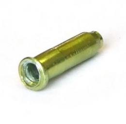 clarks embout cable de frein vert vendu par 10