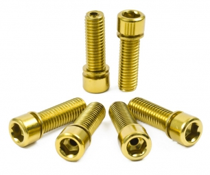 TSC Hollow Stem Bolt Kit Gold