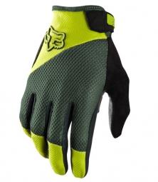 FOX Paire de gants REFLEX Gel Vert