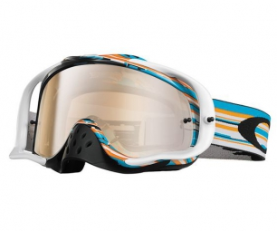 oakley masque crowbar mx glith bleuorange clear ref 007025 22