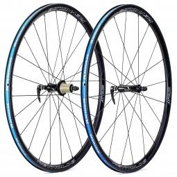 Paire de roues REYNOLDS ATTACK 29mm carbone pneu corps Shimano/Sram