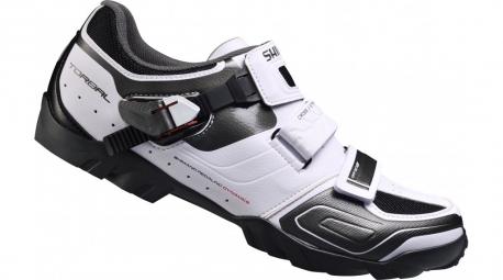 chaussures vtt shimano m089 blanc 44