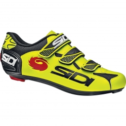Chaussures Route Sidi LOGO jaune fluo-noir