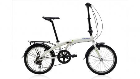 POLYGON 2015 Vélo Pliant URBANO 3.0 20'' Blanc