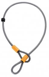 ONGUARD Antivol Câble dragonne AKITA 8044 120cm x 10mm