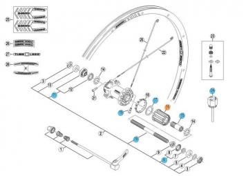 shimano corps de roue libre xt m760 580