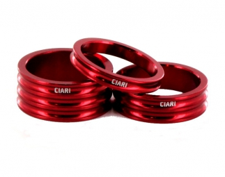 CIARI Headset Spacers ANELLI Red