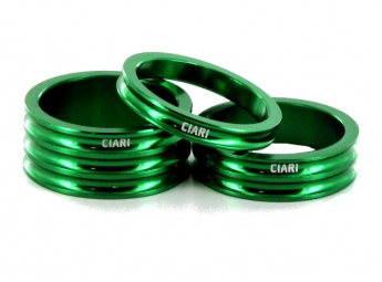 CIARI Headset Spacers ANELLI Green