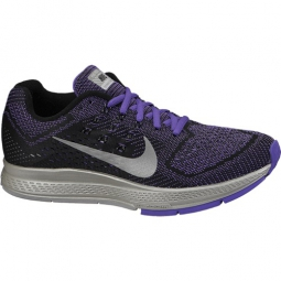 nike chaussures air zoom structure 18 flash noir violet femme 42