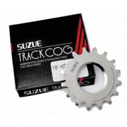 suzue pignon piste inox 1 8 silver 16
