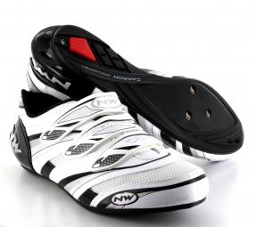 Chaussures Route Northwave VERTIGO PRO Blanc Noir Argent